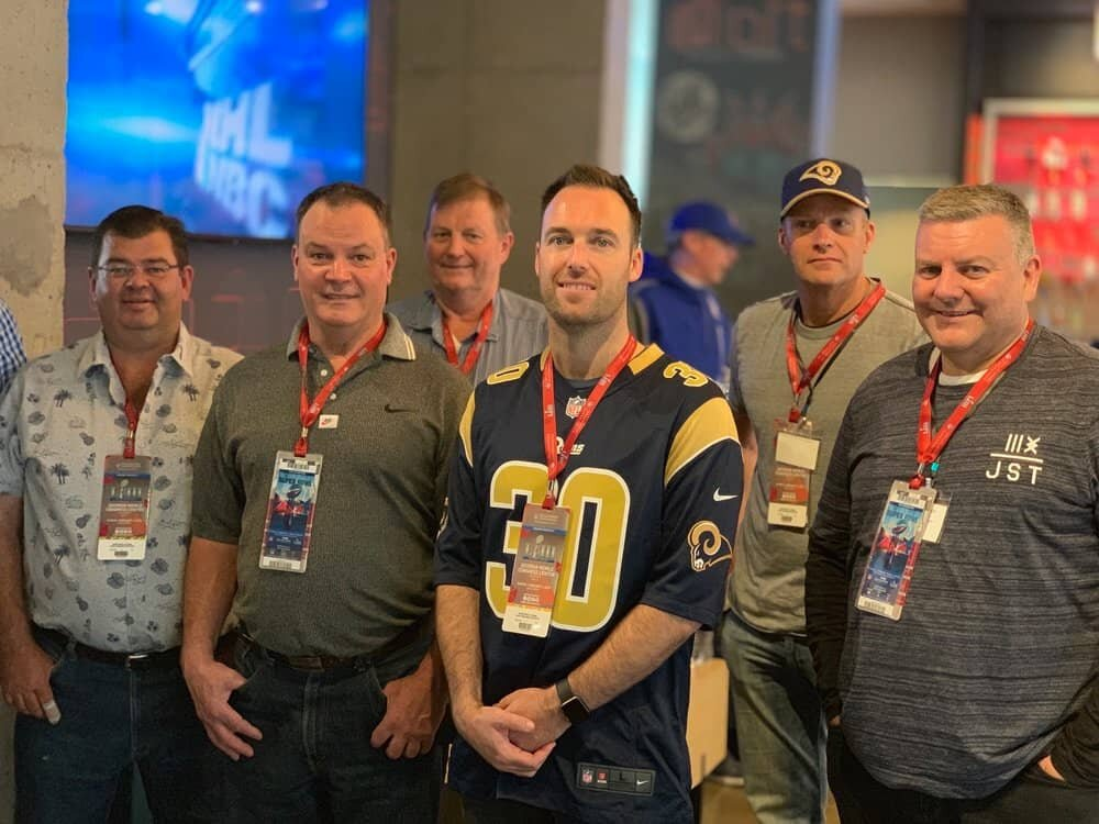 Some of our guests in Atlanta for Super Bowl LIII