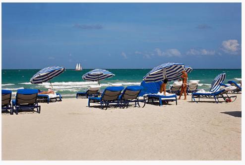 Pestana Beach chairs Super Bowl 2020 Miami
