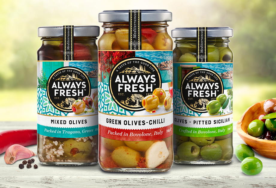 Riviana - Achieves brand vision and meets deadlineAlways Fresh rebrand
