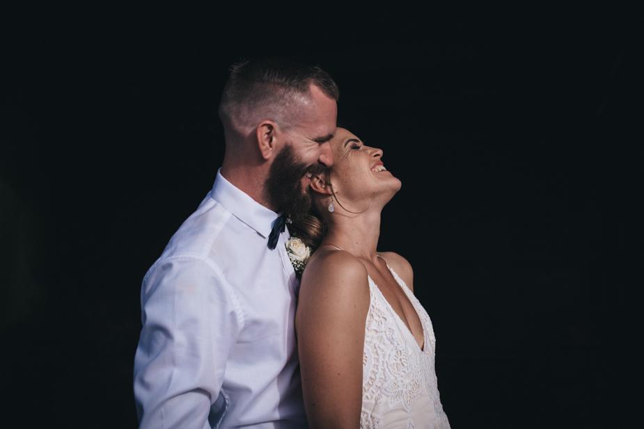 Auckland wedding photographer, bride & groom portraits
