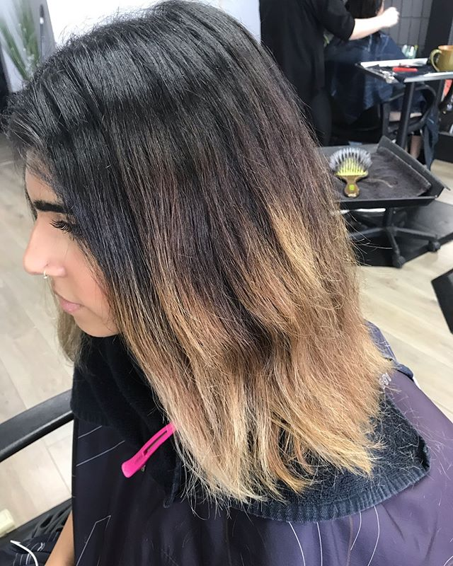 Depti wanted rid of her grown out blonde balayage and wanted an all over lighter brown.  Due to her natural colour sitting at a level 2 we decided to rebalayage to break up her natural base and transform her into this natural beige brunette. . . . #kevinmurphy #km  #businessbabes  #beautylaunchpad #haironfleek  #bestsaloninkelowna #kelownasalons #crueltyfree #colormelt #hairstyles #behindthechair #hairbrained #imallaboutdahair  #btcpics  #kelowna  #kelownafornia #kelownahair #kelownahairstylist #naturalbeauty #hairjourney #burkehairlounge #behindthechair #hotonbeauty  #stylistssupportingstylists #ylw #irishhairflair #b3 #hairvideos #hairtutorials