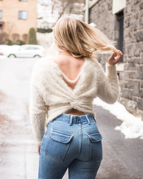 Three Rivers Vintage Bell Bottom Jeans, Frye   boots  ,   Fame and Rebel Boutique   sweater
