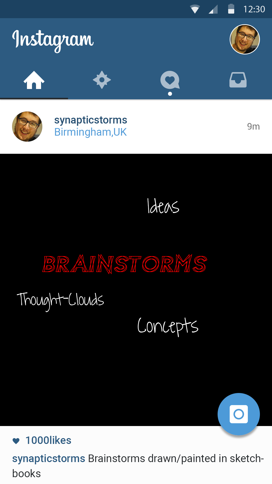 My Brainstorms - @synapticstorms - The abstract interconnections of my ideas and concepts