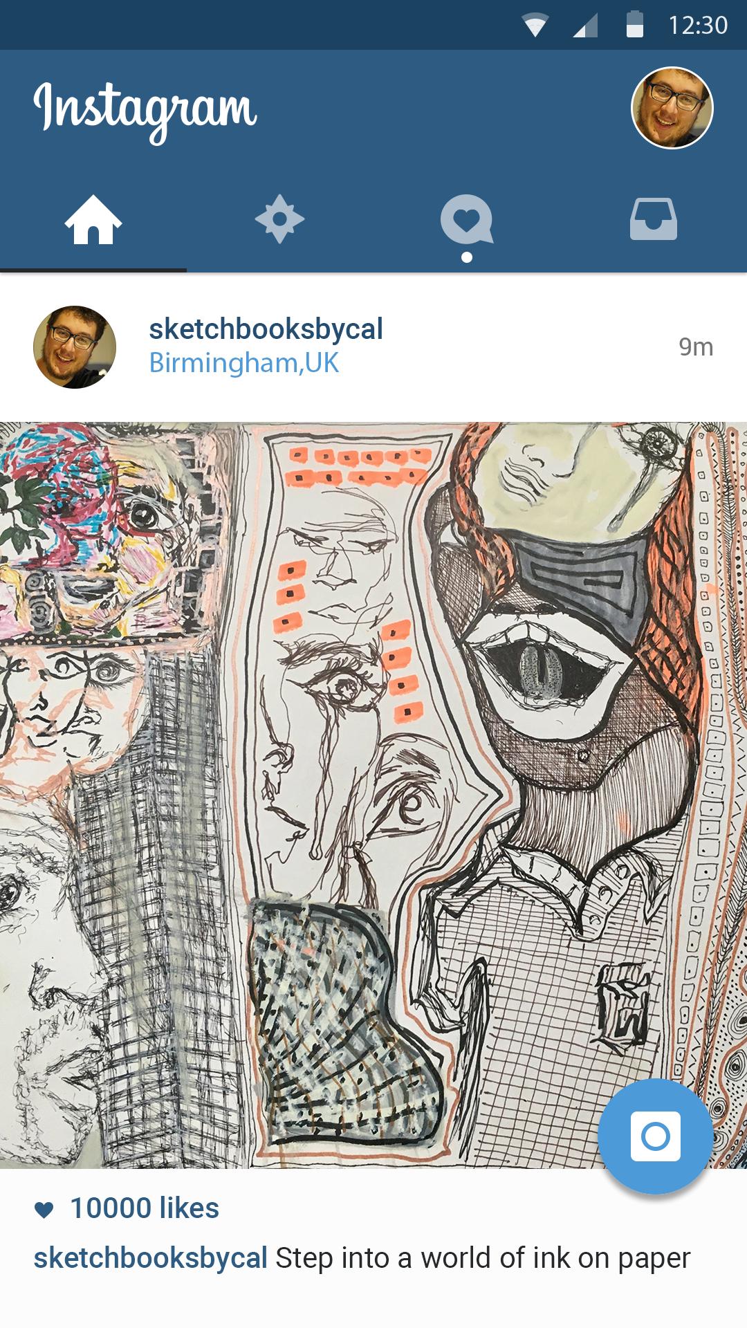 My Sketchbooks - @sketchbooksbycal -