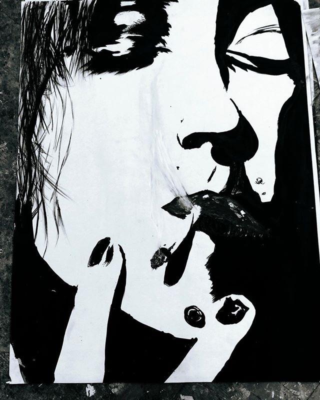 Tenebrous Art by @callumjoelrichards  https://www.callumjoelrichards.com/tenebrous  #callumjoelrichards #callumjoelart #callumsart . . . . . . . . . . . . . . . . . . . . . . . . . . . . . . . . . . . . . . . . . . . . . . . . . . . . . . . . . . . . . . . . #art #artist #art_spotlight #artistsoninstagram #artsy #arty #artofinstagram #artistoninstagram #artoftheday #artwork #artstagram #artdaily #portraitart #portraitartist #inkpainting #inkdrawing