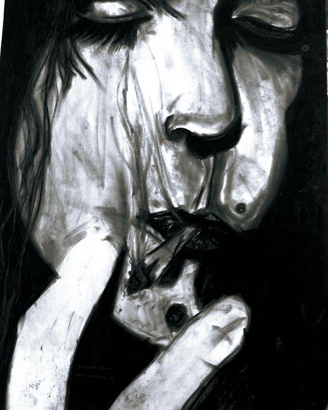 Tenebrous Art by @callumjoelrichards  https://www.callumjoelrichards.com/tenebrous  #callumjoelrichards #callumjoelart #callumsart . . . . . . . . . . . . . . . . . . . . . . . . . . . . . . . . . . . . . . . . . . . . . . . . . . . . . . . . . . . . . . . . #art #artist #art_spotlight #artistsoninstagram #artsy #arty #artofinstagram #artistoninstagram #artoftheday #artwork #artstagram #artdaily #portraitart #portraitartist #charcoal #charcoaldrawing #charcoalart