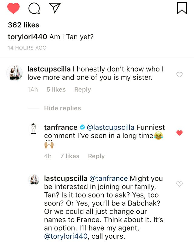 So this happened & I know it seems aggressive but you STAND UP AND FIGHT FOR YOU WANT, you hear? • Side note: I'm such a proud sis of @torylori440 and how much ass she's kicking in LA! If you haven't watched @QueerEye on @Netflix - check it out! This show is breaking down barriers, one French Tuck at a time. She RAVES about @TanFrance (and @BobbyBerk!) which makes me love him and the show even more - knowing that these guys are REAL and KIND and GOOD makes me happy.