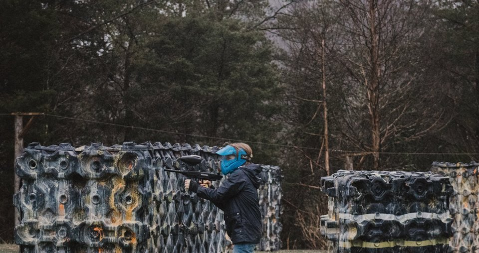 Don't Be Scared! - With low impact paintball you can still have a great paintball experience!