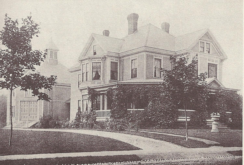 The house circa 1899