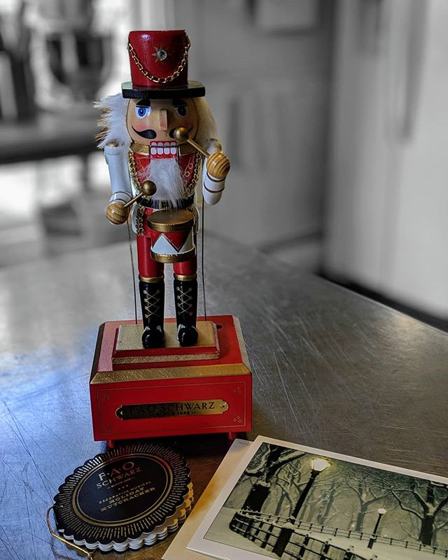 We just received this beautiful nutcracker in the mail from some wonderful guests.  How awesome! #nutcracker