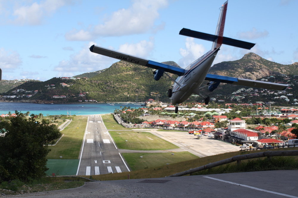 St. Barts is worth the wild arrival--as I wrote in my first piece for the  New York Times . (photo by Danielle La Rocco)