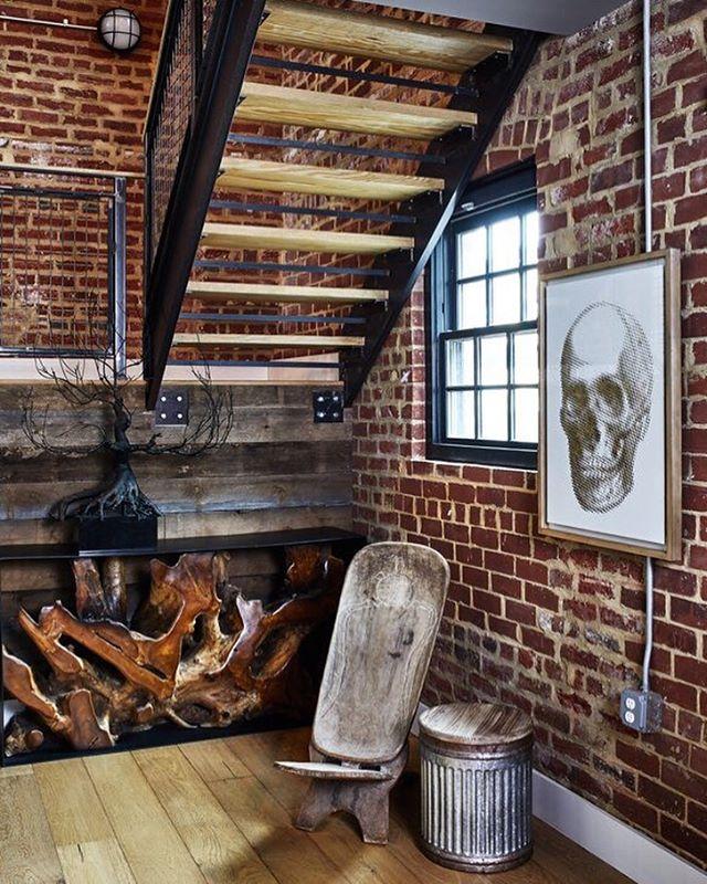 Helicopter Factory Project #brassbonesdesign  Design: @brassbonesdesign 📷: @stacyzaringoldberg Styling: @interiorstylingsbycat • • • • • • #dcrealestste #interiordesign #design #architecture #designer #interior #homedecor #interiordesigner #dmv #home #homestyling #homestyle #dcdesign #interiorstyle #washingtondc #decor #modernhome #northernvirginia #dmvrealestate #nova #hgtv #industrialhome #columbiaheights #columbiaheightsdc #industrial #architecturaldigest #modern #exposedbrick #reclaimedwood