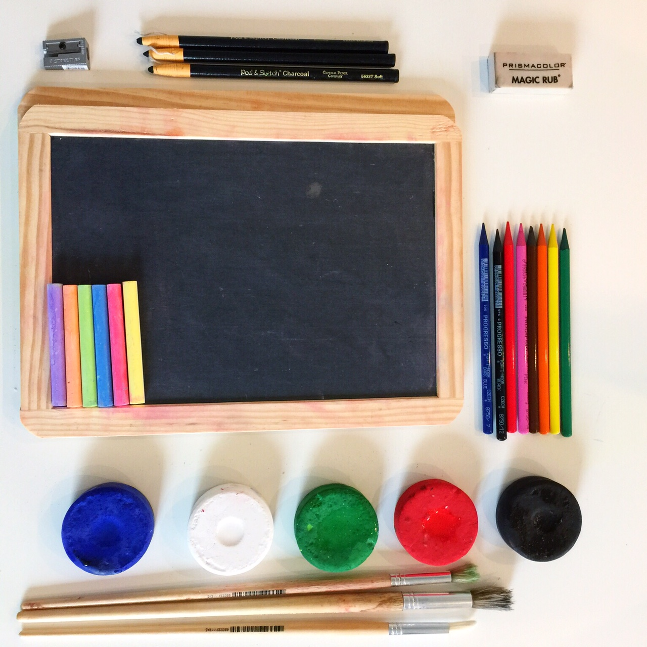 Zero waste arts and crafts supplies for kids