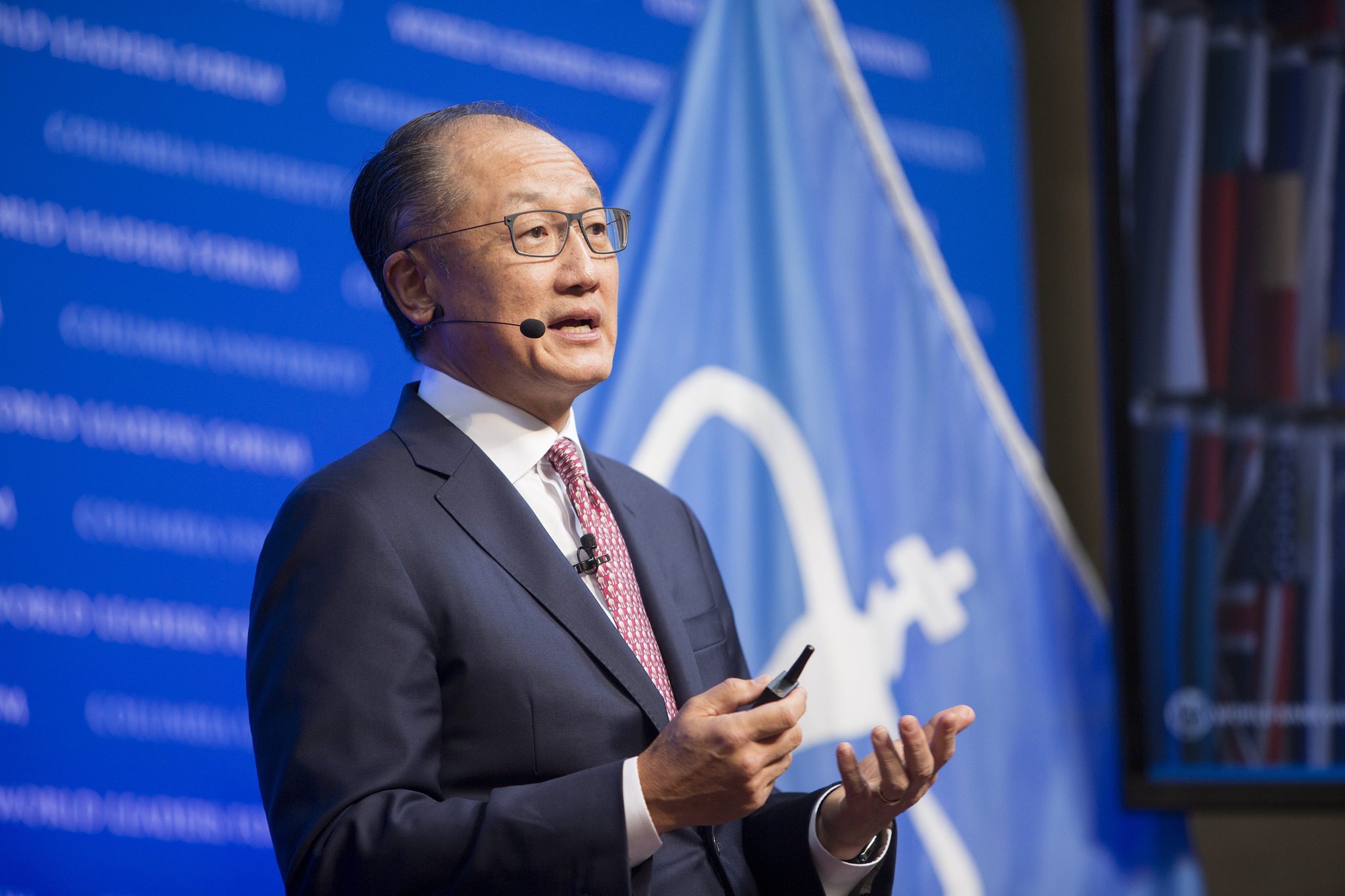 October 05, 2017, World Bank Group President Jim Yong Kim introduces the Human Capital Project. Source:  World Bank Photo Collection, Flickr