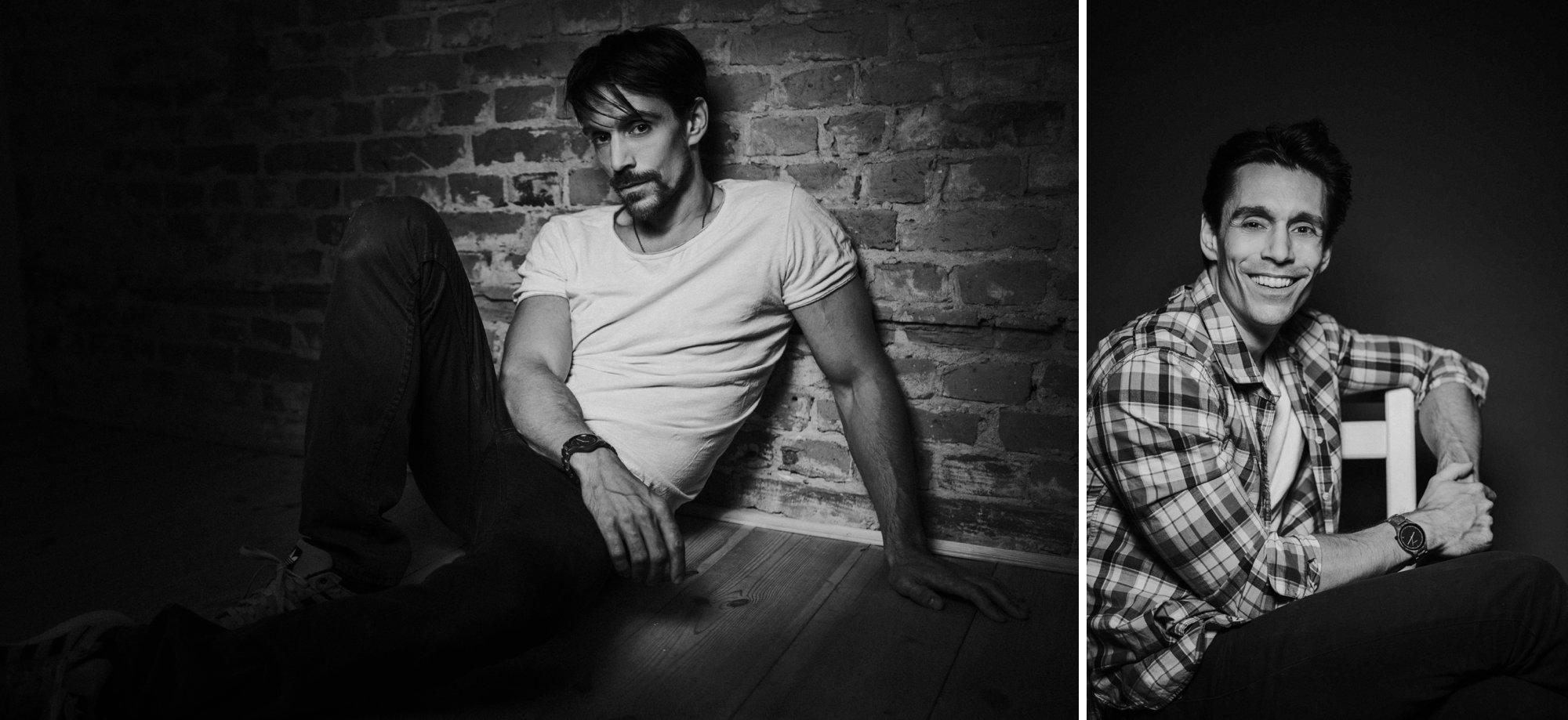 GZSZ Schauspieler für neue Fotos im Studio in Berlin