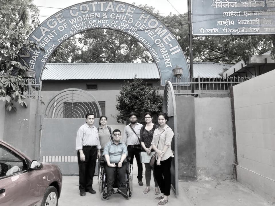 Nipman Team AT a CWC Office in South Delhi