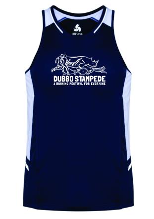 Dubbo stampede running festival signlet