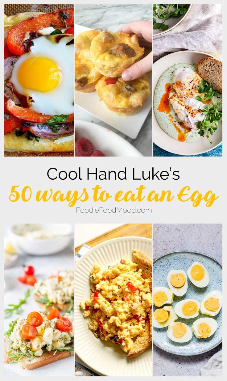 Egg Recipes #foodinmovies #reciperoundup #recipes #easy |  FoodieFoodMood.com