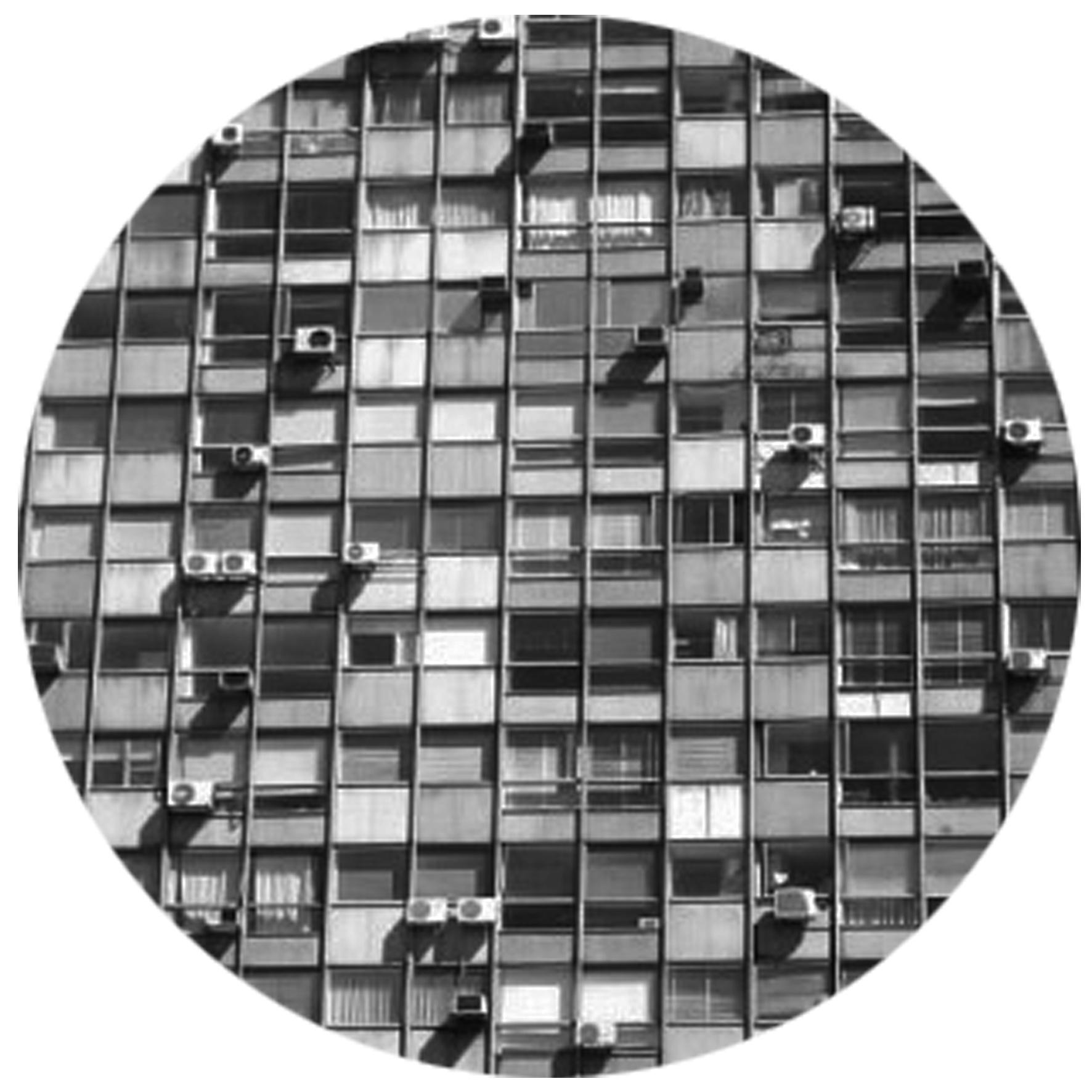 Housing Fractals, 2015  Digitally printed paper sticker