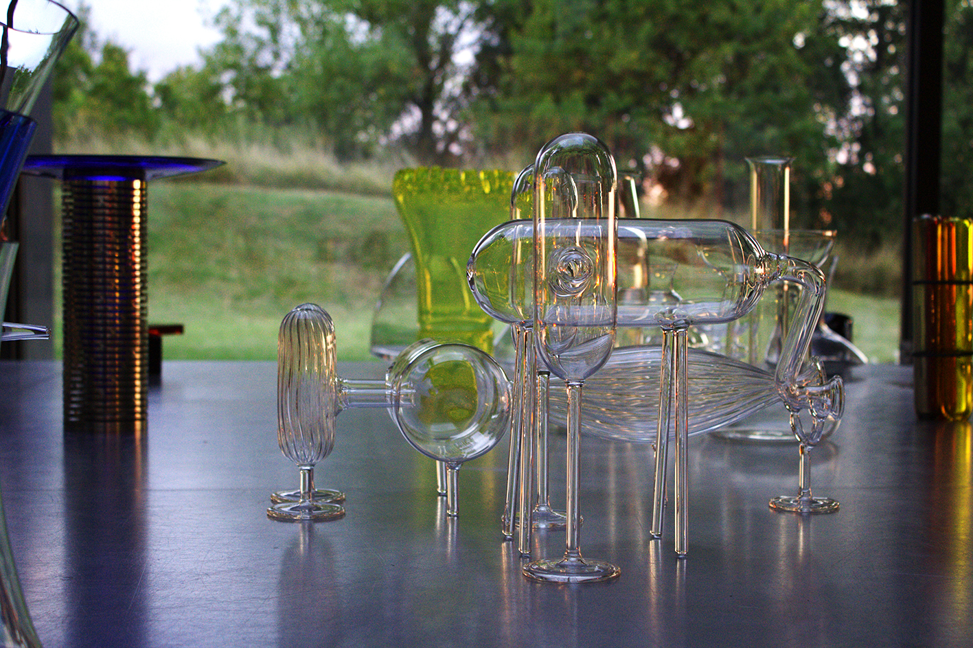 Male & Female Systems, 2014  Borosilicate glass  CNAP collection, France