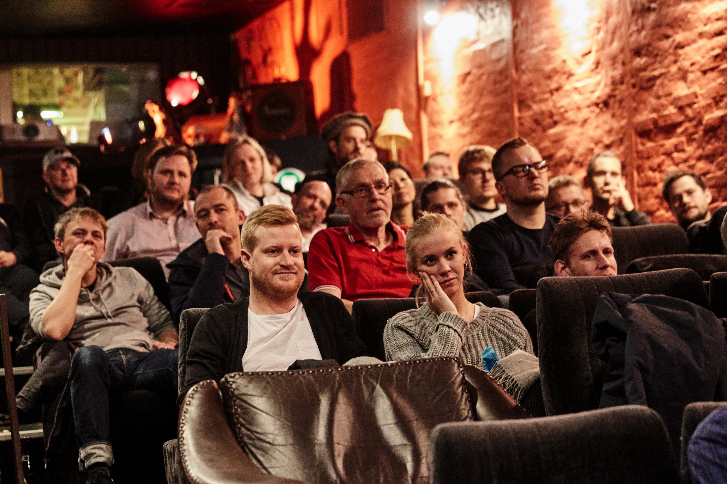 Husets Biograf var ramme om Shoot! festivalen 2018. Til marts 2019 afholdes Shoot! for anden gang i Husets Biograf. Foto: Klaus Sletting Jensen
