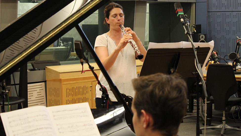 Emily performing live of Radio 3 at BBC Broadcasting House