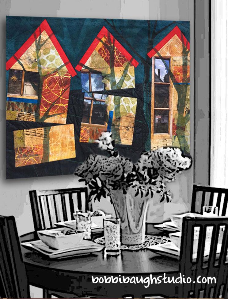 bobbibaughstudio-art-quilt-on-wall-casual-dining-room.jpg