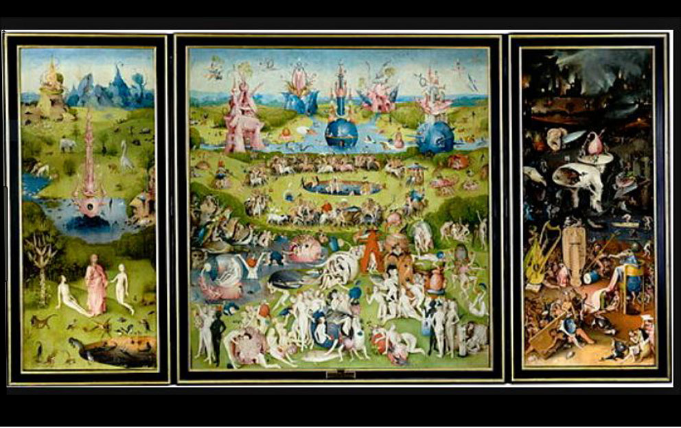 "Hieronymous Bosch ""Garden of Earthly Delights"" C. 1504"