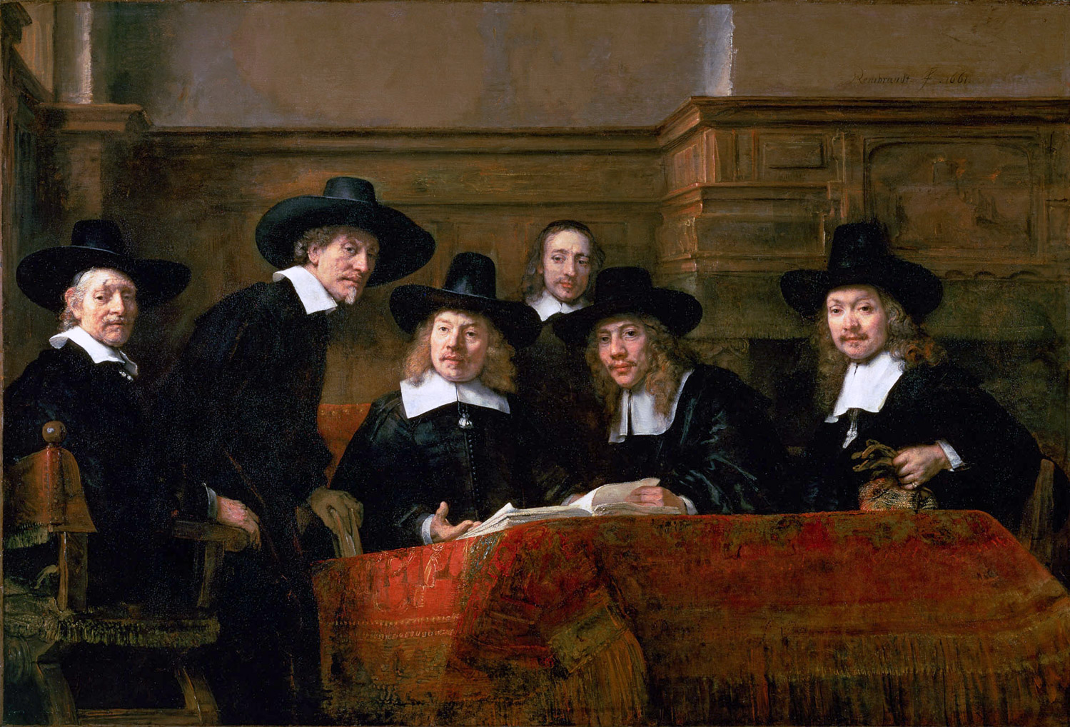 Rembrandt: Syndics of the Drapers' Guild