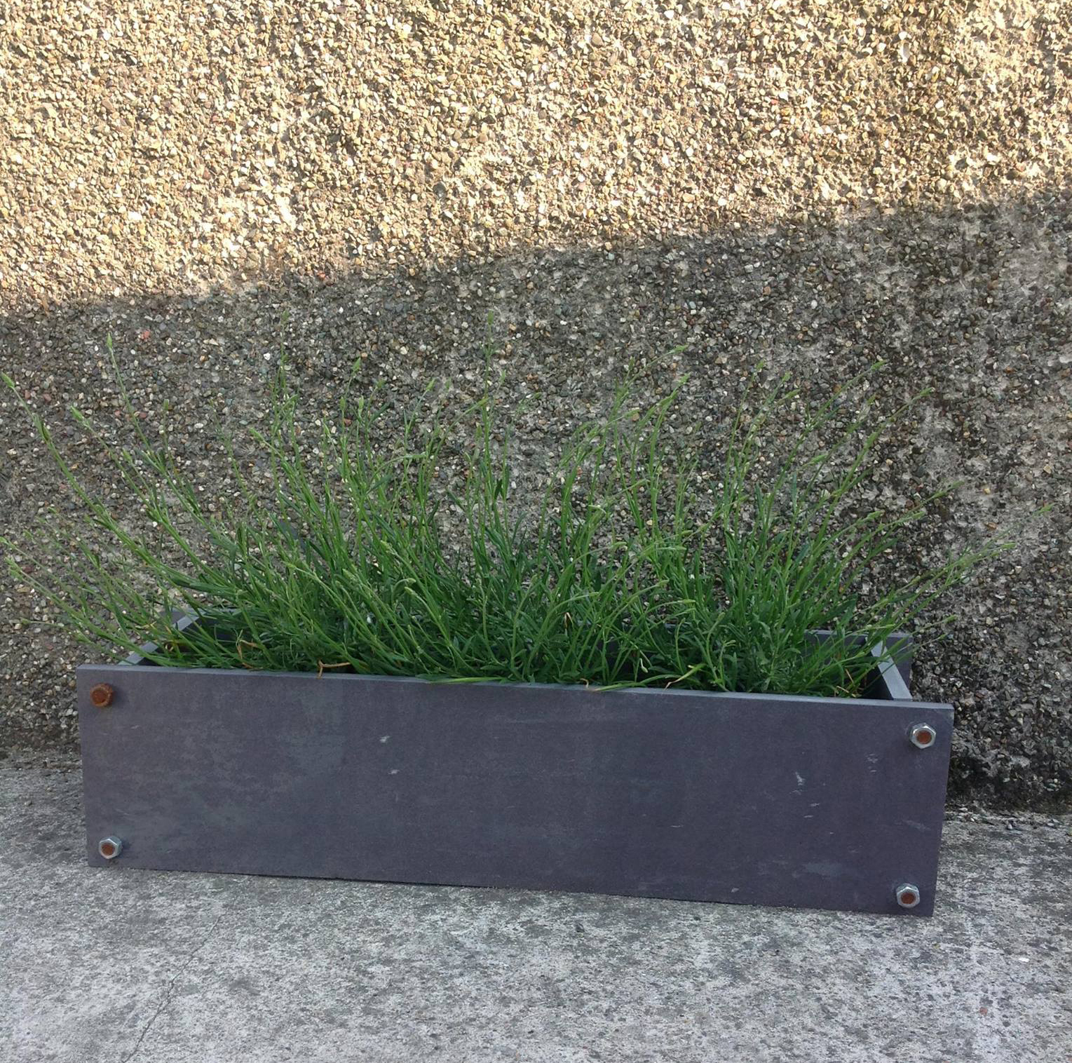 Welsh slate flower container