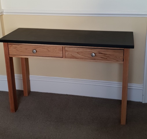 Welsh slate and oak console table.jpeg