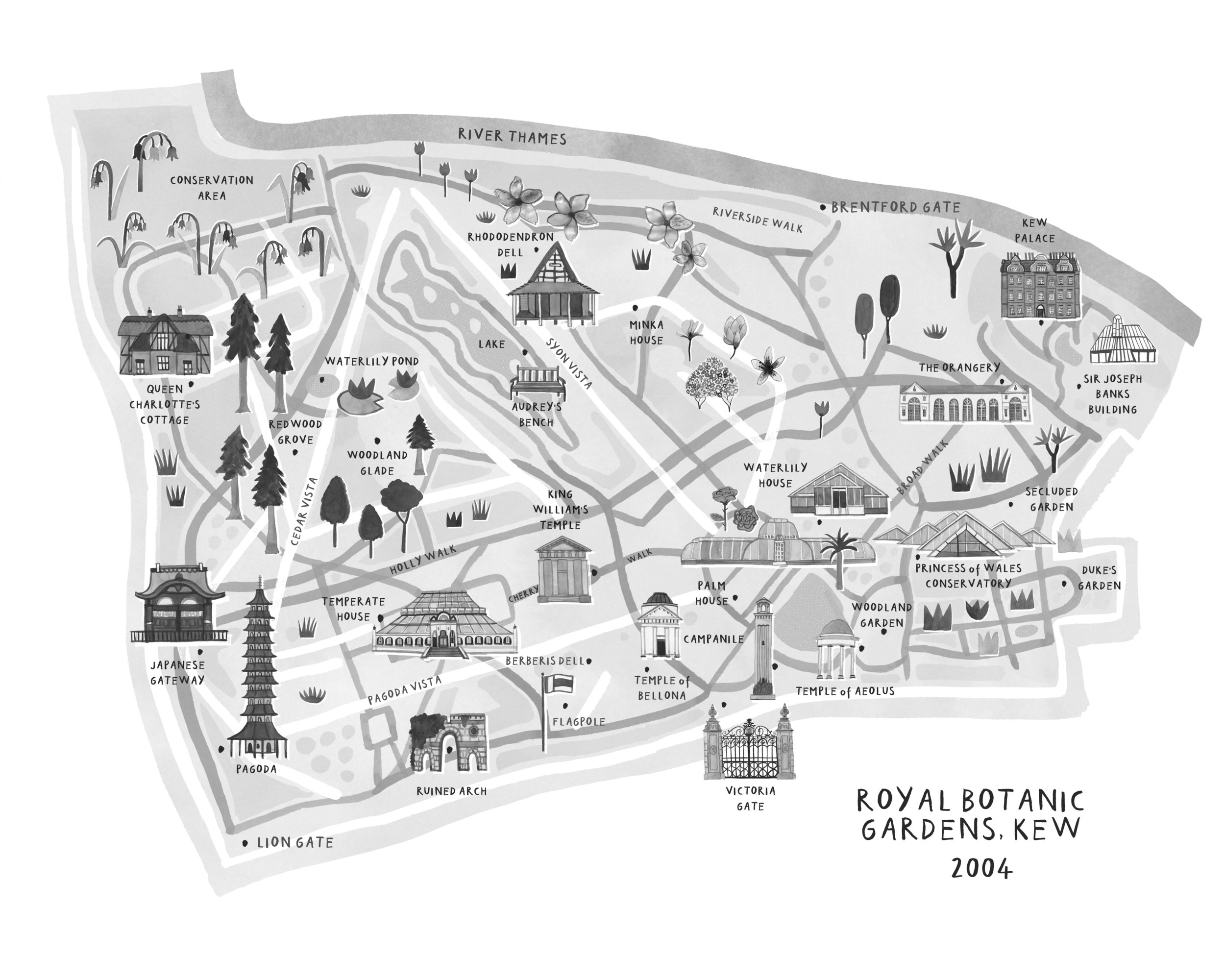 Map by livi gosling. © Bloomsbury publishing