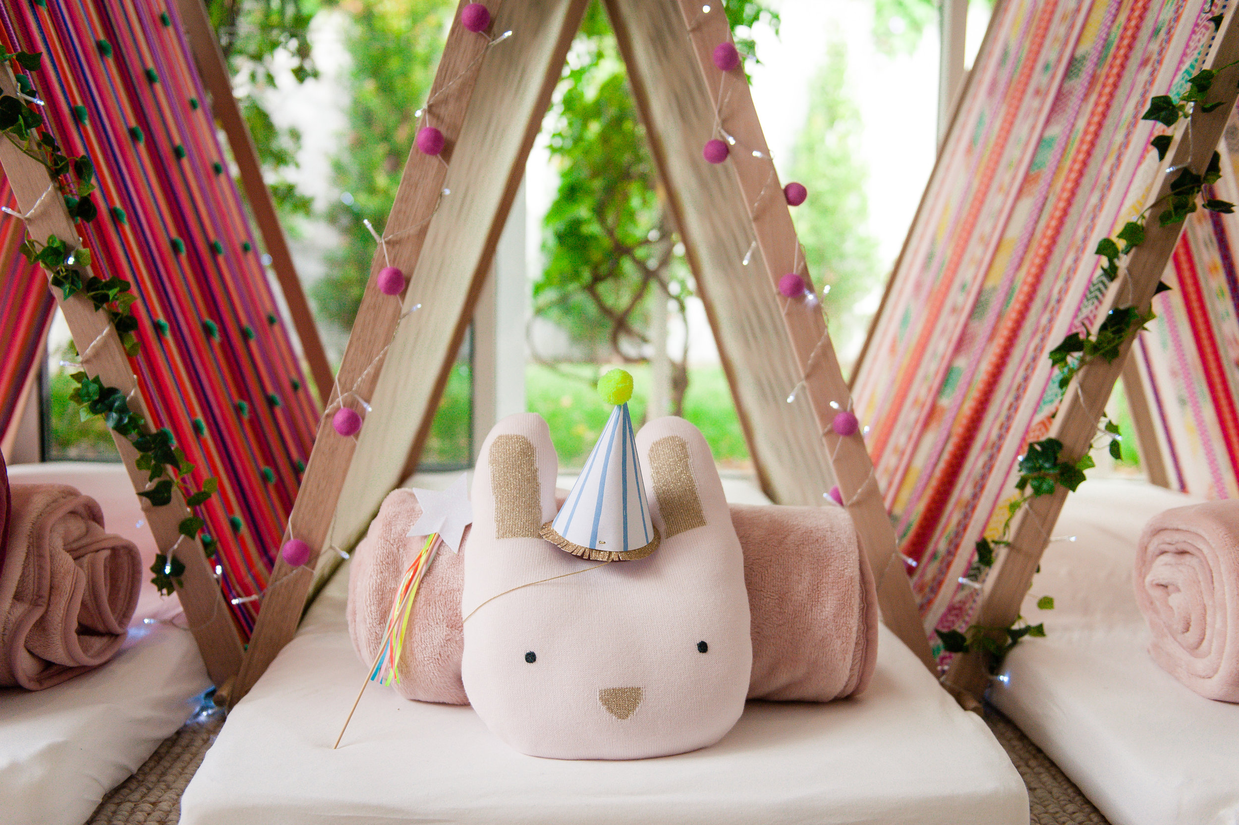 Bohemian Dreams Teepee Dreams sleepover slumber parties Melbourne