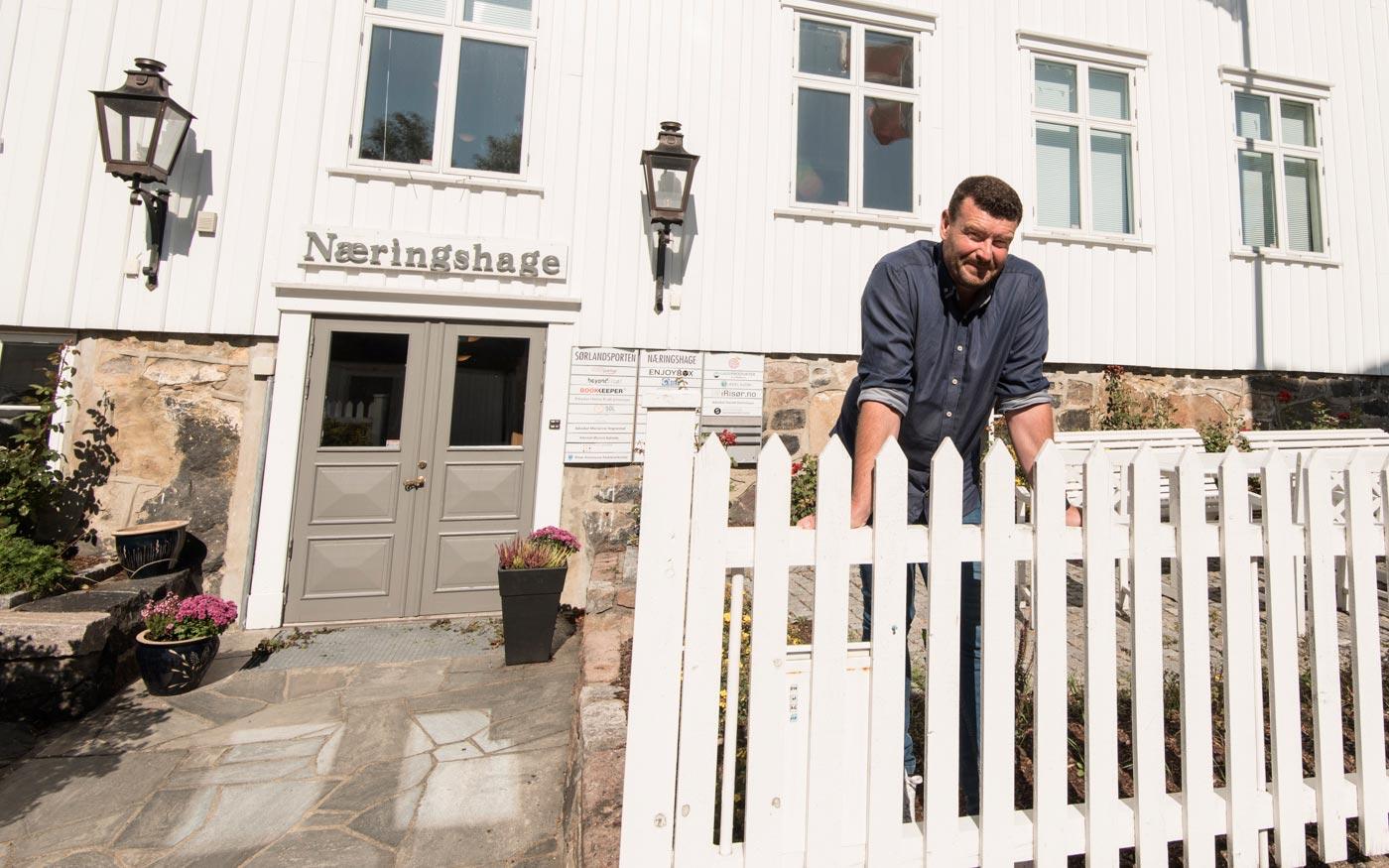Geir Arnesen i Alulu Konsult.  Tekst og foto: Tore Myrberg