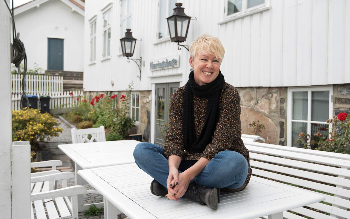 Som målbedrift i næringshagen mener Ida at hun har fått mye nyttig drahjelp.  Tekst og foto: Tore Myrberg