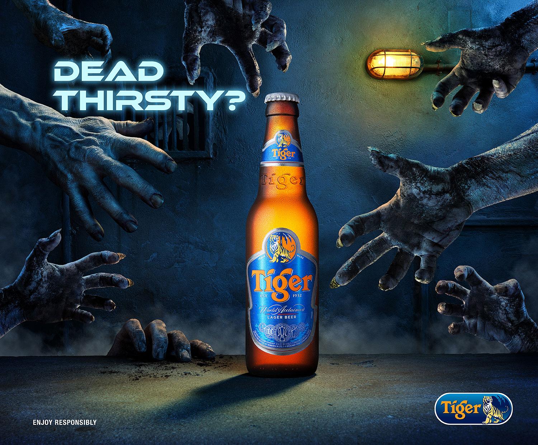 Tiger Beer Zombie Underground