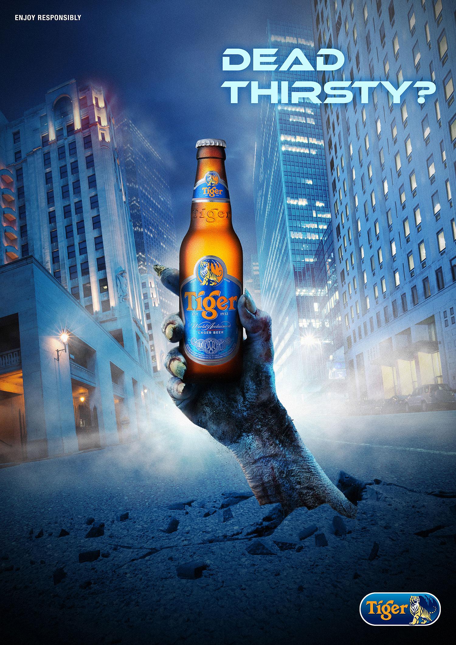 Tiger Beer Zombie City