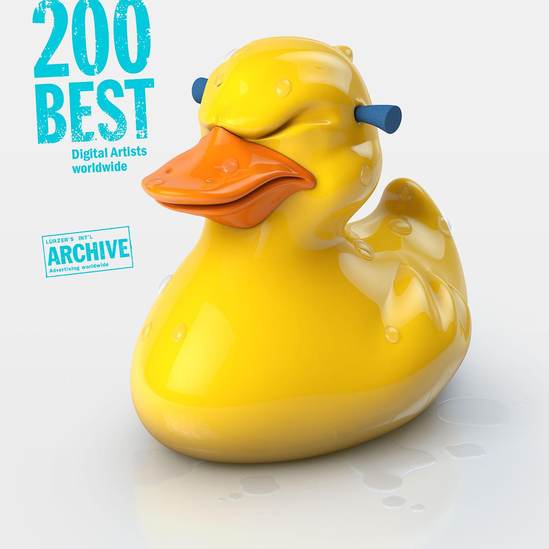 Triton Showers Rubber Duck