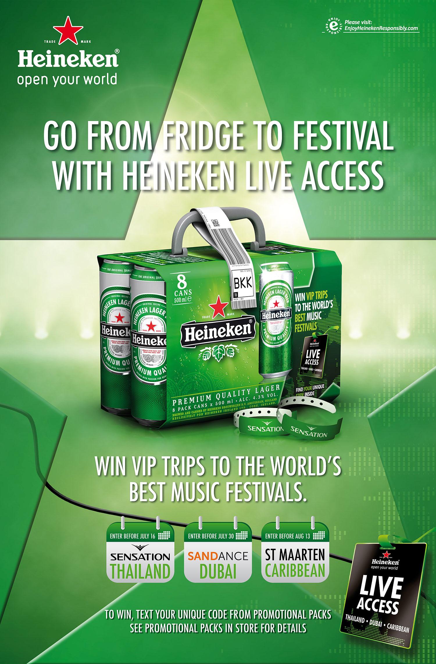 Heineken - Live Access