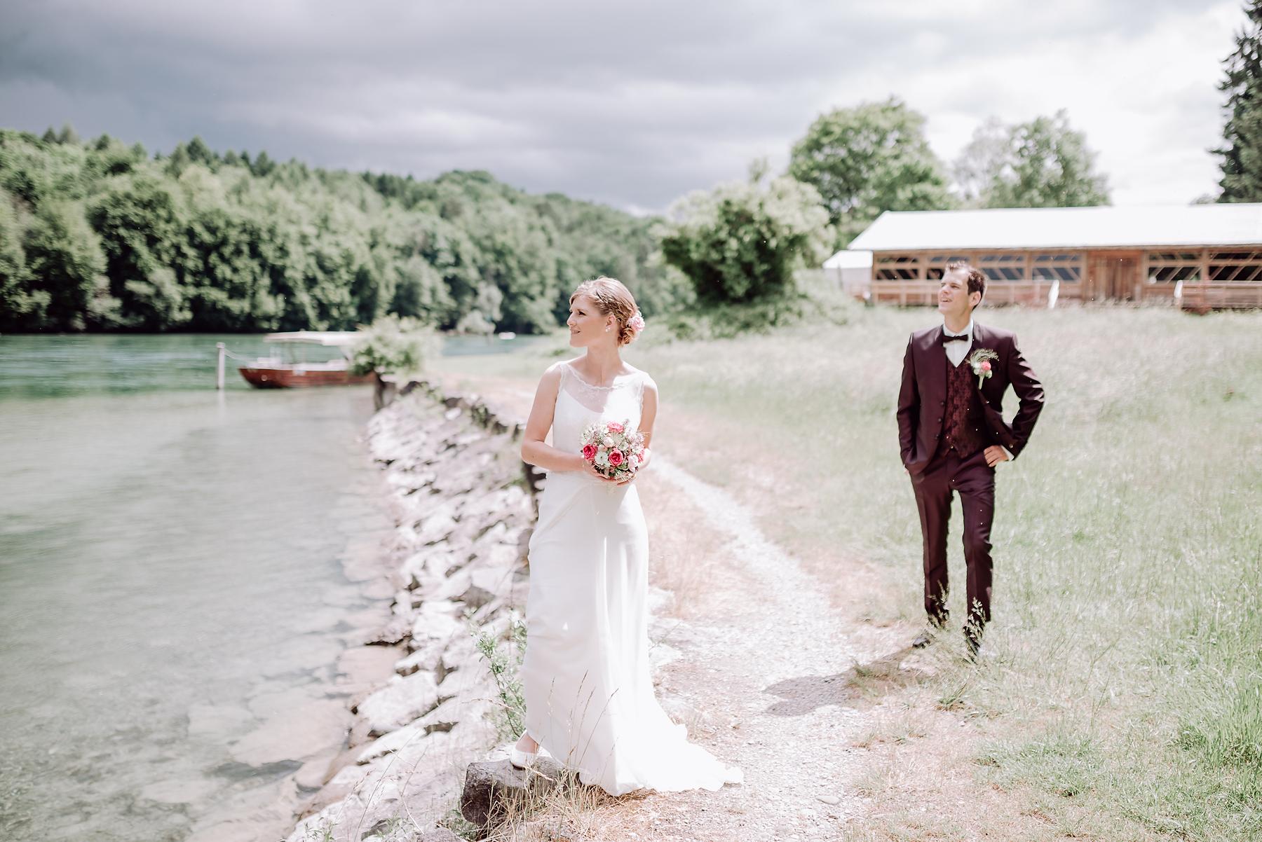 Hochzeit am Rhein