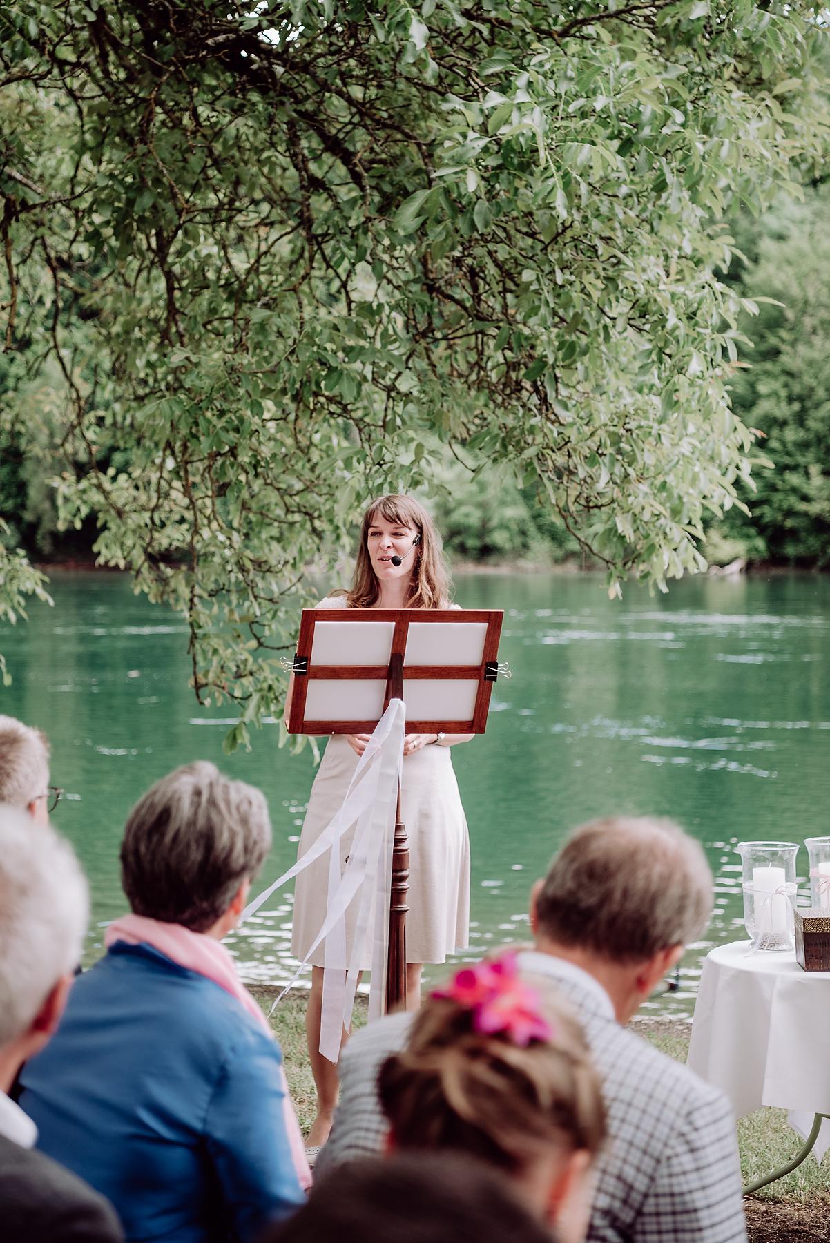 Zeremonienleiterin, Hochzeitszeremonien
