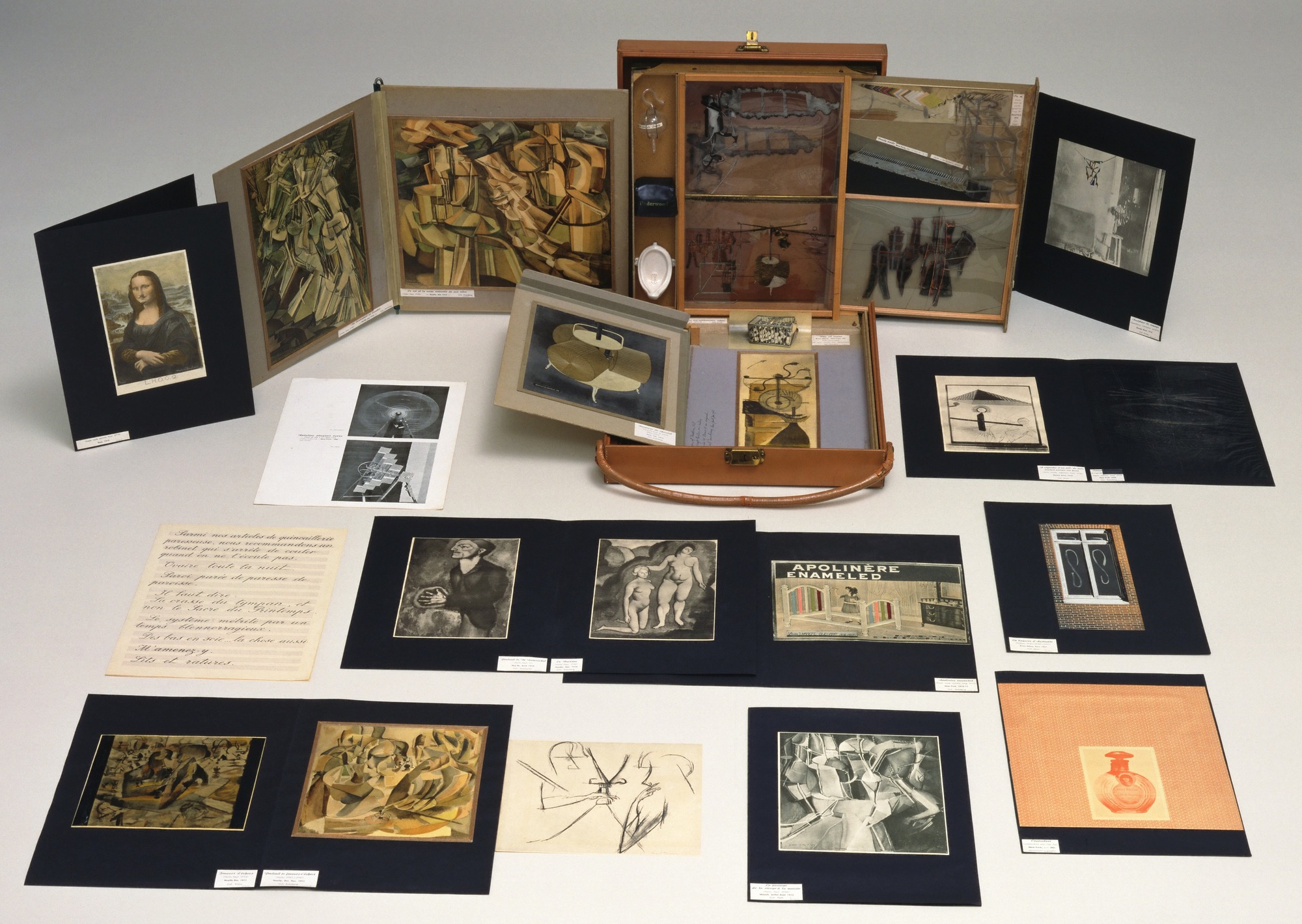 Marcel Duchamp's Box in a Valise