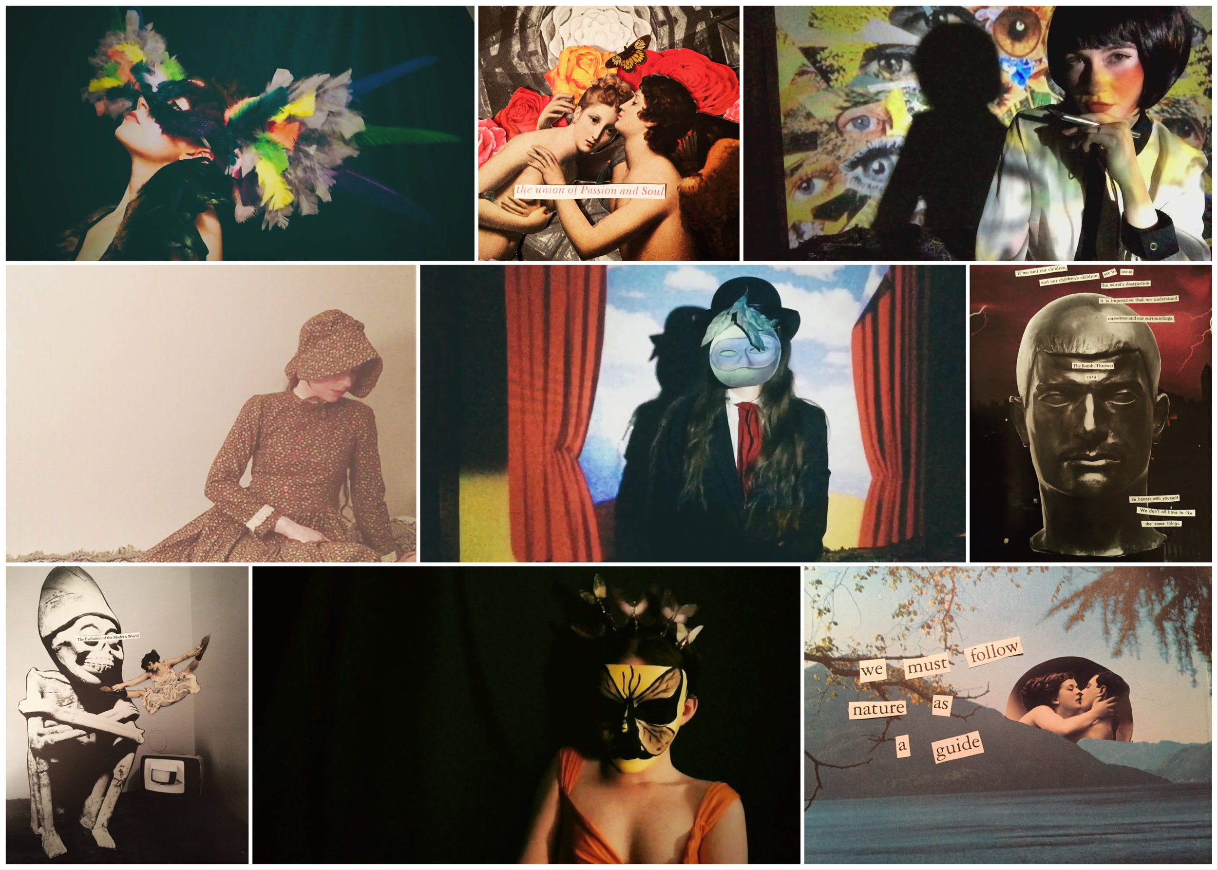 An overview of my creative works from the past week.