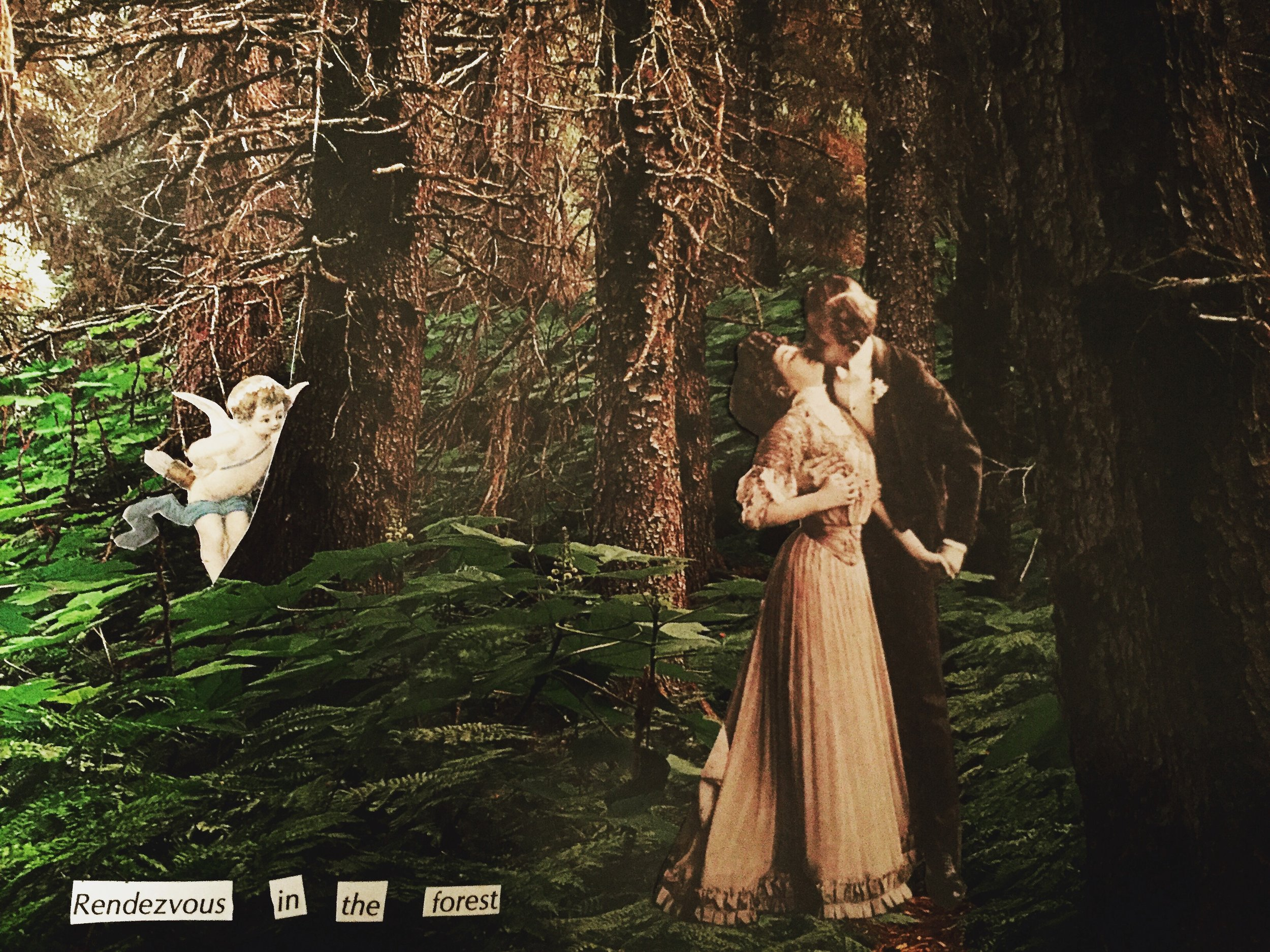 Rendezvous in the forest by Joan Pope (sexdeathrebirth)