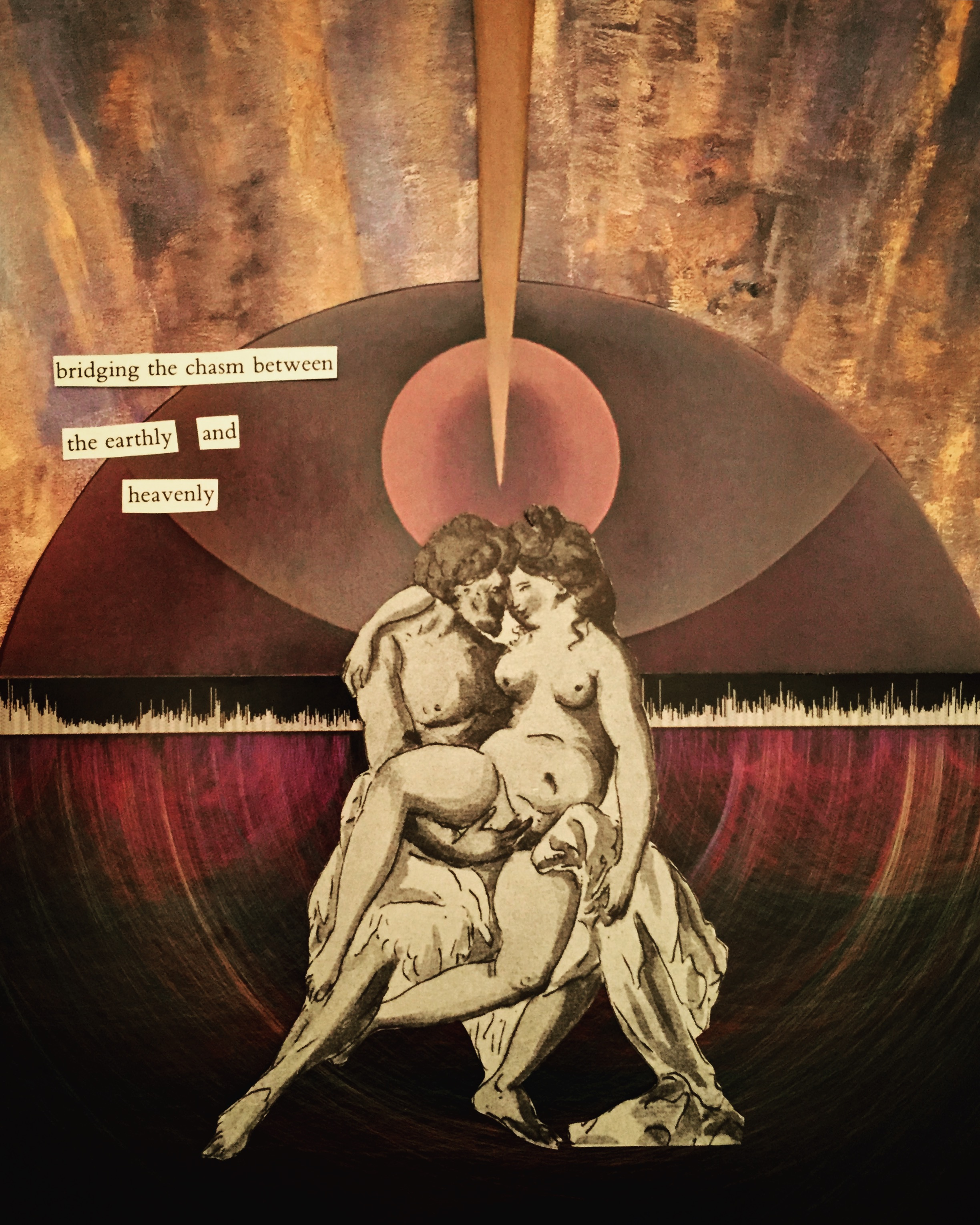 Bridging the Chasm Between the Earthly and Heavenly by Joan Pope (sexdeathrebirth)