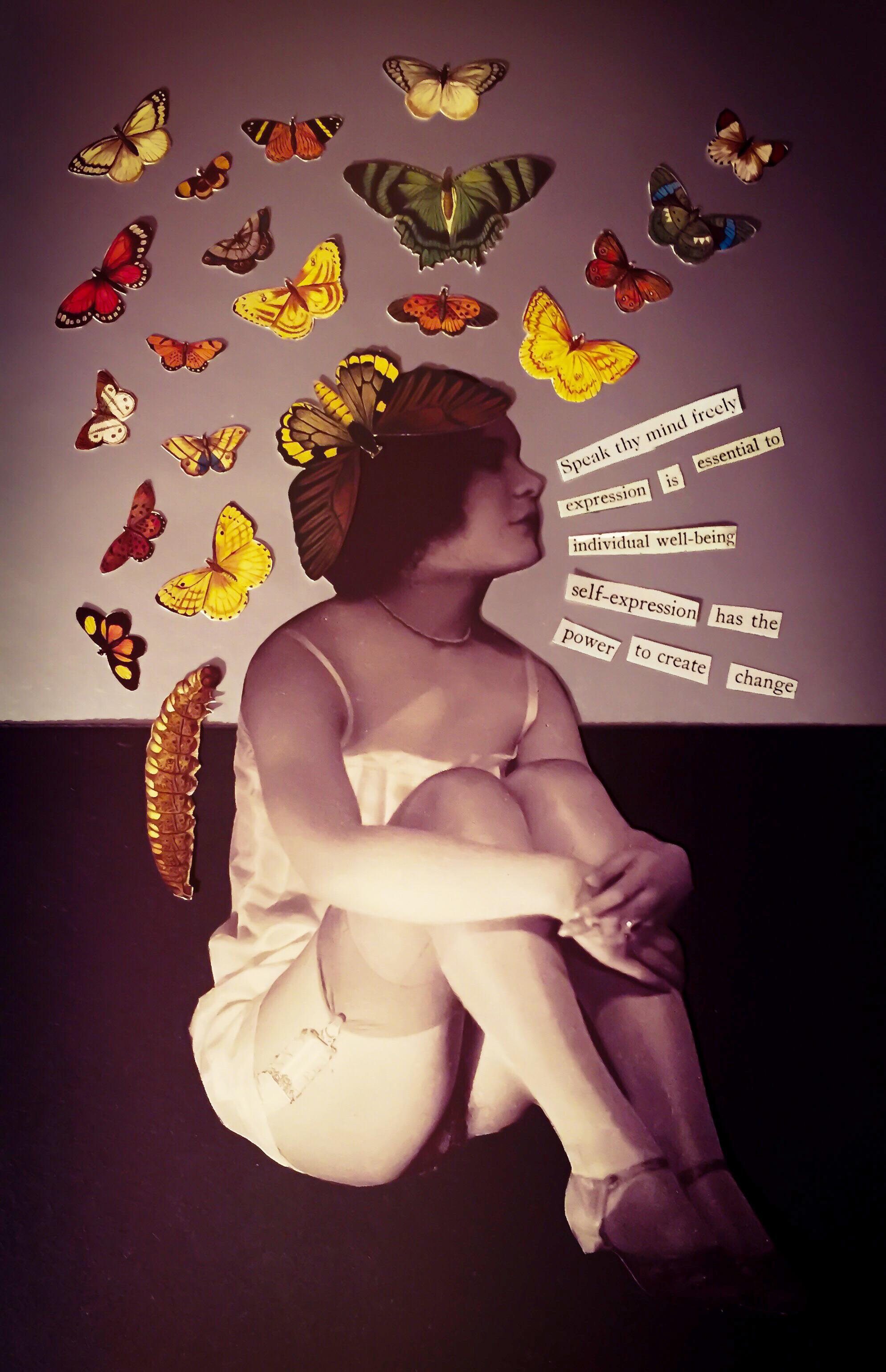 Speak Thy Mind Freely by Joan Pope (sexdeathrebirth)