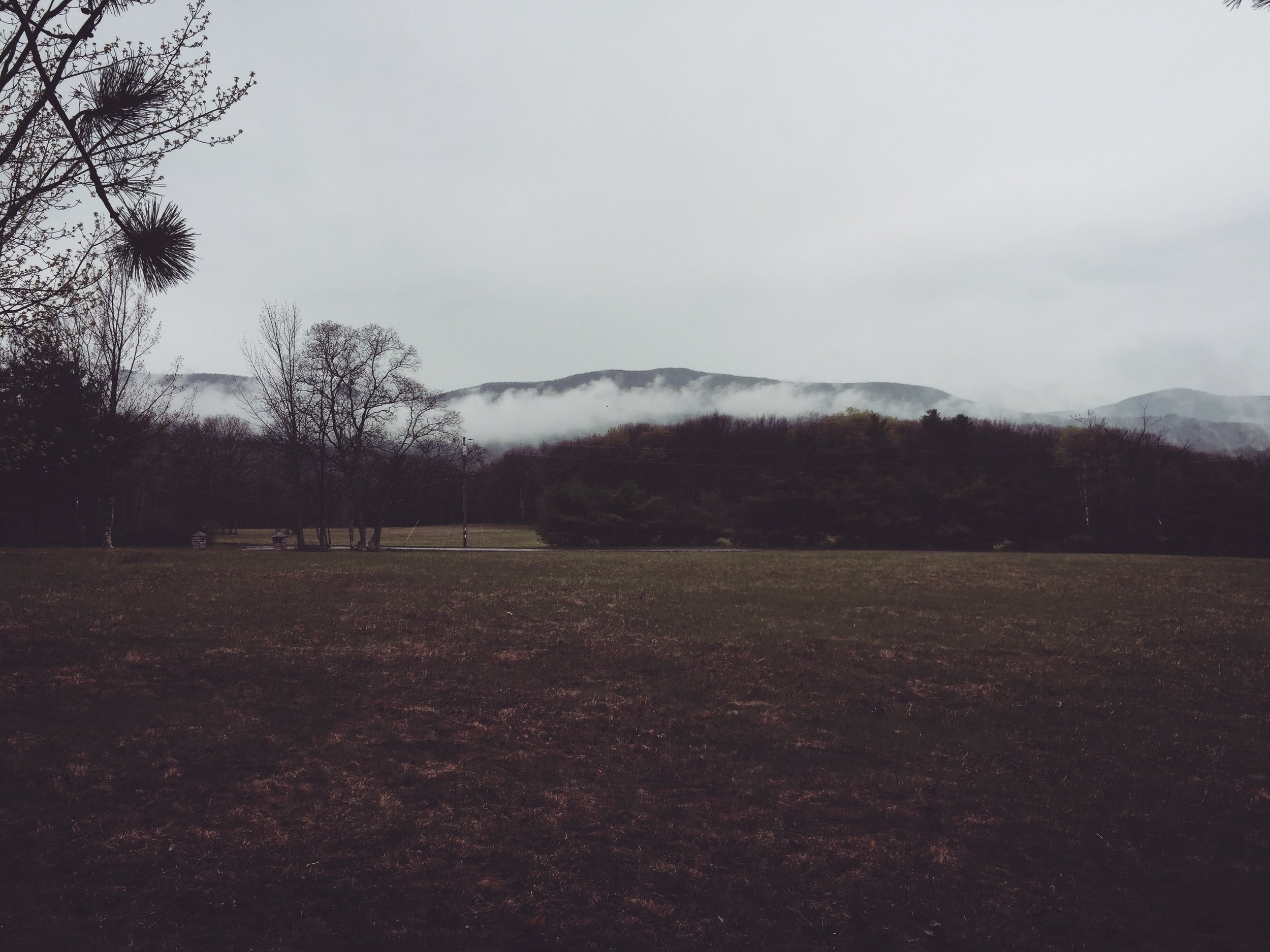 View from Grandpa's house