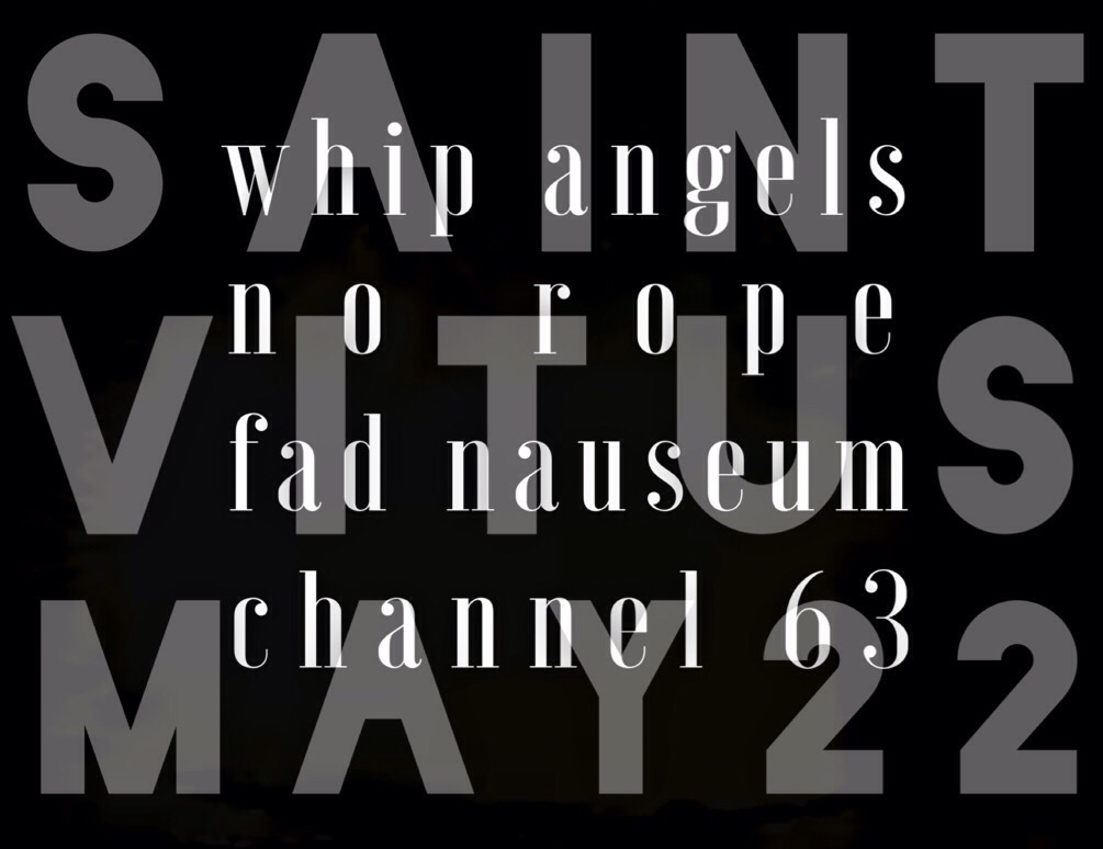 The Whip Angels at St. Vitus in Brooklyn, May 22