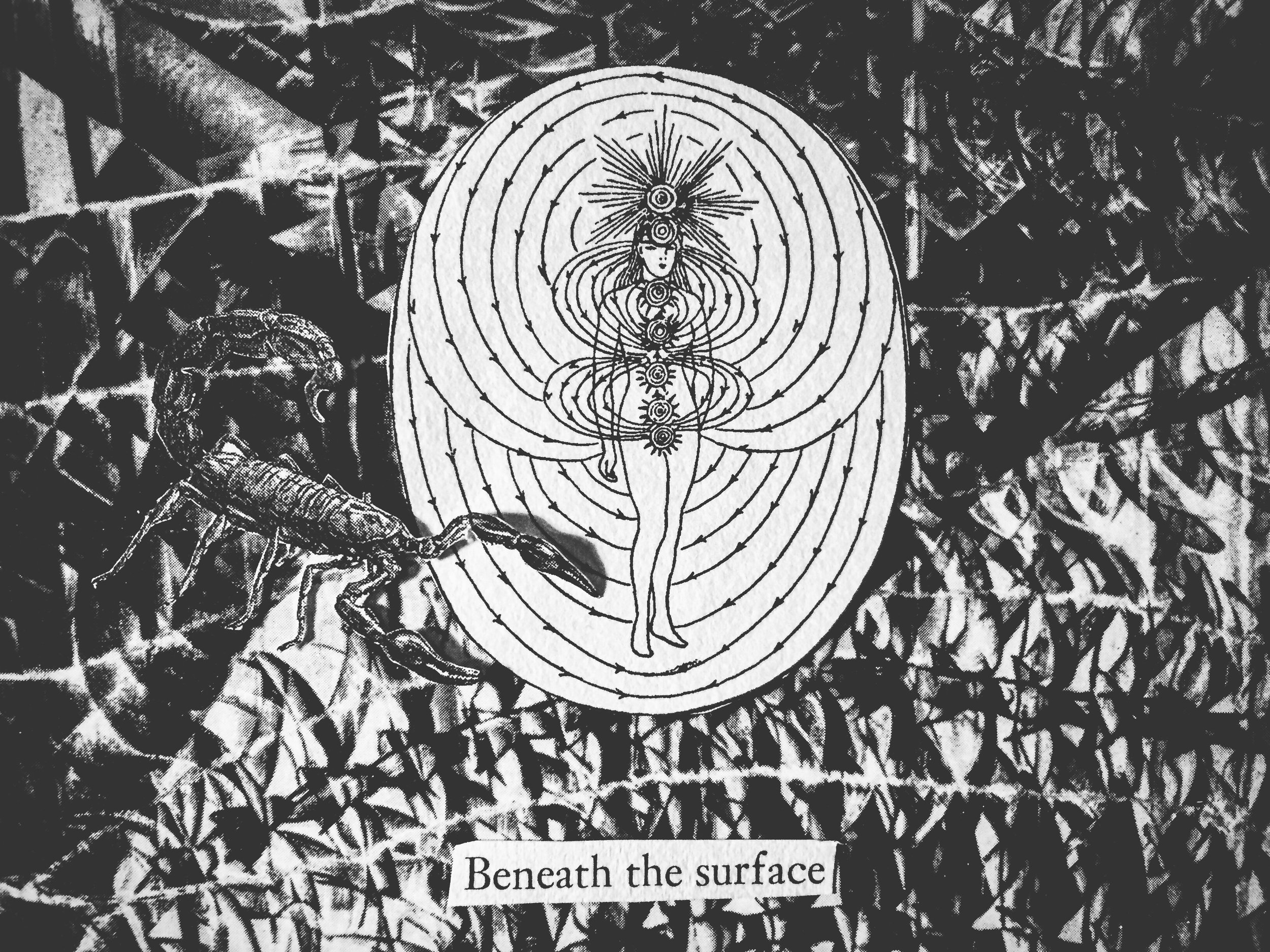 Beneath the Surface by Joan Pope (temple ov saturn)