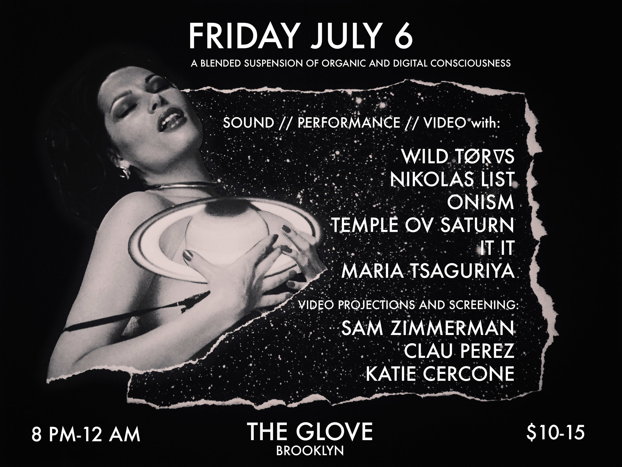 This coming Friday! Temple ov Saturn performance in Brooklyn.